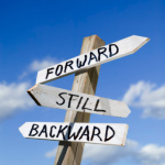 Looking forward, standing still, or stuck in the past?