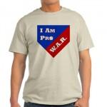 sabermetrics tee shirt