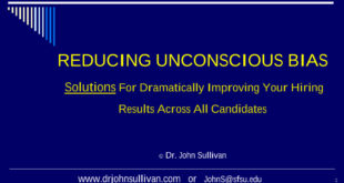 Reducing Unconscious Biases. Solutions for dramatically improving your hiring results across all candidates.